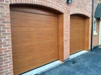 Alutech sectional Garage doors