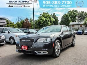 2017 Chrysler 300 C, AWD, GPS NAV, PANO SUNROOF, BLINDSPOT MONIT