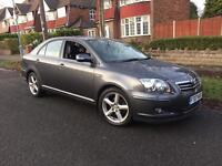 Toyota Avensis t180 d4d diesel 2007 sat nav fully loaded leather