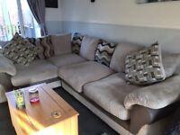 Harveys large corner couch