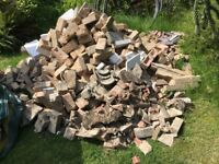 Free rubble and bricks