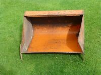 "SISIS 24"" mower grass box"