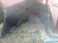 50 inc umbrella with sides
