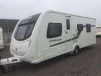 Swift Challenger 580 Island bed 2011 with Motor Mover