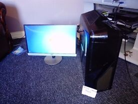 Intel i7 hexacore, 16GB, gaming PC for sale