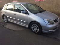 2004 HONDA CIVIC 1.7 C.D.T.i # M.O.T TO DECEMBER 2017 # 1 OWNER FROM NEW # DRIVES AS NEW # 2 KEYS #