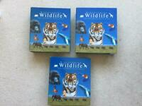 3 big wildlife collection folders
