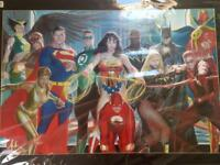 Justice League Framed Photo