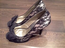 Lace Heels from New Look, New No Box, Size 6