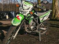 Kawasaki klx 125cc ( 66-plate )
