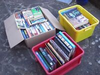 Job lot of books. 3 x boxes. Paper & Hard Backs