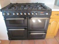 Dual fuel cooker 1000 Black Cannon