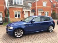 2010 BMW 1 SERIES M SPORT 2.0 DIESEL, FULL SERVICE HISTORY, LOW MILEAGE