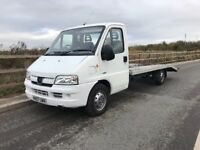 PEUGEOT BOXER 2.8 HDI EXTRA LONG WHEEL BASE 17 FOOT BED RECOVERY TRUCK