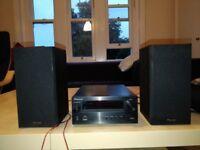 Pioneer X-HM10-K home audio set