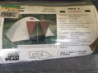 Camping tent - 3 people size
