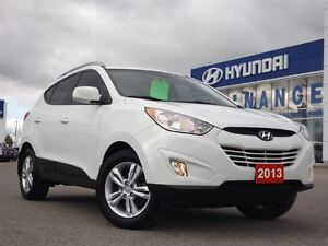 2013 Hyundai Tucson GLS   WELL EQUIPPED   ALLOYS   HEATED SEATS  Stratford Kitchener Area image 4
