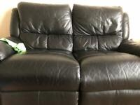 ** 👀Double leather sofa only £30👀 **
