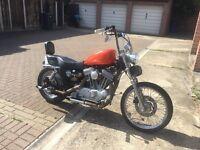 02 SPORTSTER 883 Harley Davidson Chop Bobber Custom
