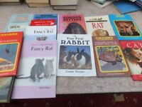 53 Pet Care / Breeding Books, Hardbacks & Paperbacks, VGC, Only £10 to clear.