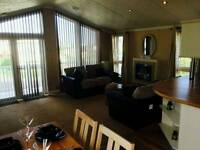 Luxury lodge for sale at Camber Sands.