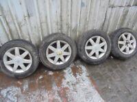 SEAT LEON Mk1 Alloy Wheels & Good Tyres 195/65-15