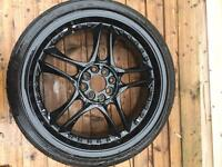 "18"" wolfrace alloys"