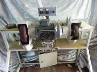 URGENT Polishing m/c, 3 phase with Siemens 240v converter. OFFERS