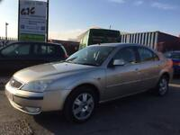 2004 FORD MONDEO GHIS TDCI 130BHP AUGUST 2018 MOT SUPERB CONDITION!!!