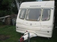 avondale riato 1999 2 berth with motor mover and full awning