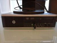 HP Elite 8300 USFF Desktop PC Computer Intel i5-3470 2.9GHz 17 Inch Monitor