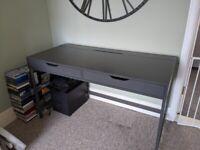 IKEA desk Alex 132 X 58