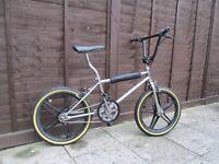 OLD CHROME BMX
