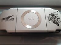 FF7 Crisis Core psp console and limited edition game