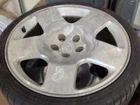 Genuine Audi TT Competition alloys