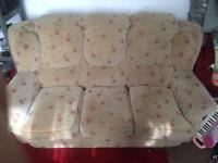 Three seater sofa free to new home