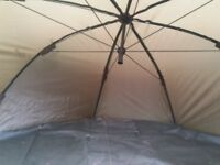 saber fishing brolly/ overnight shelter