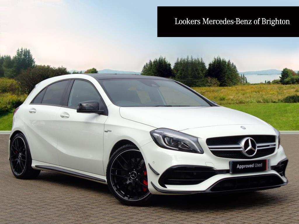 mercedes benz a class a45 amg 4matic white 2017 01 04 in portslade east sussex gumtree. Black Bedroom Furniture Sets. Home Design Ideas