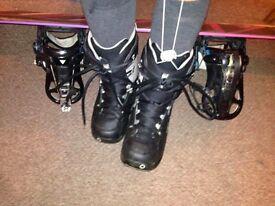 Women Snowboard Boots Burton size 5UK