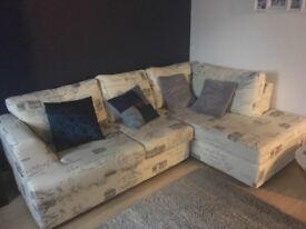 Homebase Schreiber corner sofa