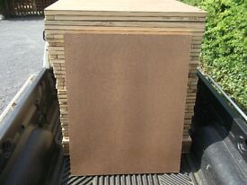 HARDBOARD WOODEN BOARDS - EXCELLENT USED CONDITION