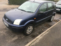 2004*FORD FUSION 1.4 PETROL*6 MONTHS MOT*2 OWNERS*SERVICE HISTO