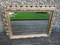 Gold Framed Mirror plus Rounded and Rectangular Mirrors