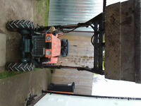 kubota b6000 compact with loader and a lot off kit