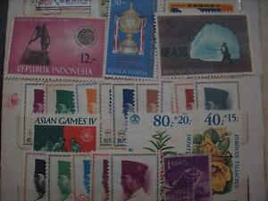 Selling My Stamp Collection, Indonesia Lot