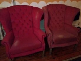 2 vintage armchairs for sale!