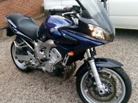 Yamaha Fazer 600cc in excellent condition
