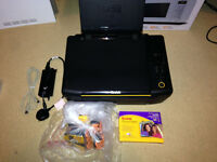 Kodak ESP C110 Printer and Scanner (Installed Ink + 6 Spare Ink Cartridges)