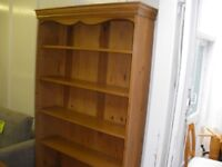 TALL OLD-PINE BOOKCASE