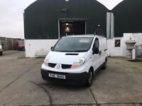 2007 WHITE RENAULT TRAFIC SL27 115DCI ....Finance Available